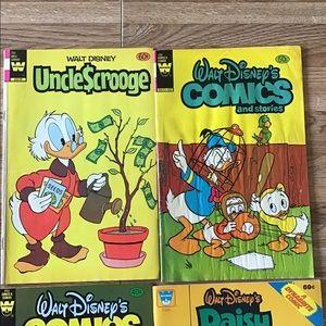 16 Vintage Disney Comic Books